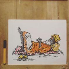 It's+Time+We+Took+A+Break+To+Gawk+At+Illustrator+Amirkhan+Pathan's+InkTober+Doodles+On+The+Kumbh+Mela