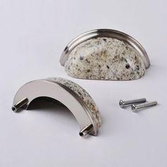 CP90 Kashmir White Kitchen Granite Pulls