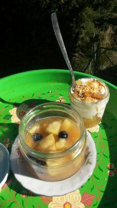 Gelatina de frutas frescas.Hecha con algas Agar-agar.