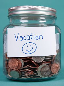 """How to Save Money for a Vacation"" Take the pain out of paying for your vacation by saving for it ahead of time. These tips from former Money magazine editor Sarah Max will save you from a post-vacation financial hangover"
