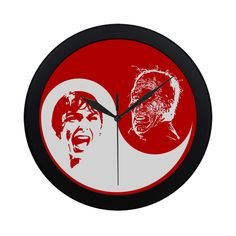Design your everyday with wall clocks you'll love. Add a unique timepiece to your home featuring art and trending designs from independent artists. Cool Clocks, Yin Yang, Pop Art, Horror, Plastic, Scream, Retro, Halloween, Coupon