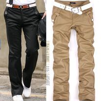 The item is a casual long pants for men. The material is very soft and comfortable. And the design is very fashion. It absolutely can show your personal charm. A perfect option for you, act now.  Features: * Extremely fashion, and eye-catching * Soft and comfortable to wear and touch * Mater...