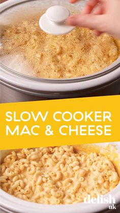 recipe videos cheap Slow Cooker Mac And Cheese Slow Cooker Mac N Cheese Recipe, Mac Cheese Recipes, Slow Cooker Recipes, Cooking Recipes, Easy Crock Pot Mac And Cheese Recipe, Mac N Cheese Easy, Party Crockpot Recipes, Macaroni Recipes, Crockpot Dishes