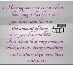 This is very true. Missing friends in Minnesota, and thinking of all you each day.