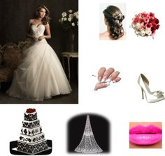 """my wedding day"" by liasladies ❤ liked on Polyvore"