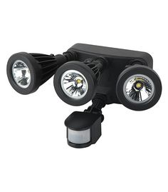 PIR LED security lights UL Approved philips LED chip high lumens triple heads high quality manufactured by Sunflower. Led Wall Lights, Binoculars