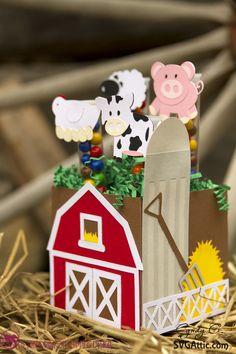 SVG Attic - Down on the Farm treats #svgattic