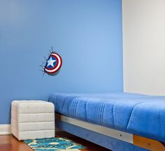 Amazon.com: 3D Light FX Marvel Captain America Shield 3D Deco LED Wall Light: http://amzn.to/2sl42pw