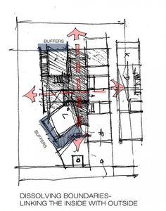 Stacked House Architecture Paradigm plusMOOD CONCEPT SKETCH 600x764 Stacked House | Architecture Paradigm