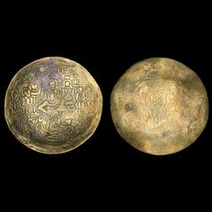 Gold Ramatanka charm  India, 16th-17th century AD  Hindu temple token
