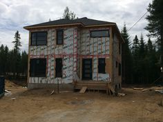 ISOCLAD on Quebec house project