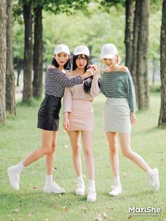 Official Korean Fashion : Korean Fashion Similar Look Cute Fashion, Asian Fashion, Girl Fashion, Fashion Looks, Fashion Outfits, Womens Fashion, Fashion Trends, Style Ulzzang, Ulzzang Fashion