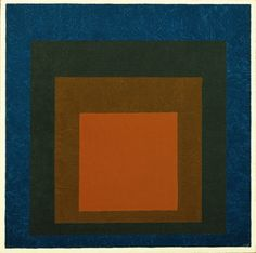 Josef Albers, Study for Homage to the Square Night Shades 1957