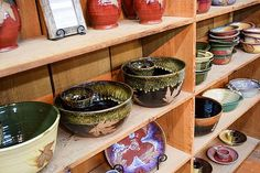 The Ultimate Girls' Getaway Weekend: Shop, Chat and Relax In The Great Smoky Mountains - Robert Alewine Pottery in Gatlinburg, Tennessee.