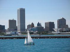 The lovely Milwaukee skyline