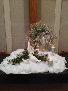 January 2014 altar