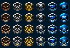 StarCraft 2 Rank Emblems