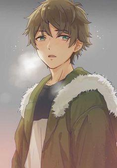 Characters for rp anime, cute anime guys, hot anime boy. Anime Oc, Kawaii Anime, Chica Anime Manga, Fanarts Anime, Manga Boy, Hot Anime Boy, Cute Anime Guys, Brown Hair Anime Boy, Anime Style
