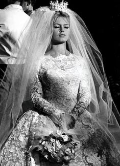 1952 (age 18) Bardot married director Roger Vadim. The union lasted 5 yrs.