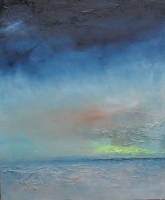 """""""I Think Spring is Coming"""". Beautiful atmospheric work from Adele Eagleson."""