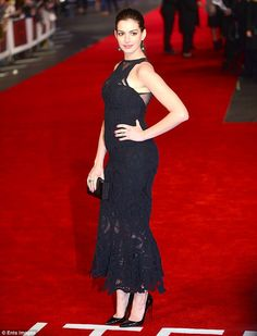 Something to tell us?The Les Miserables star first sparked speculation that she may be exp...