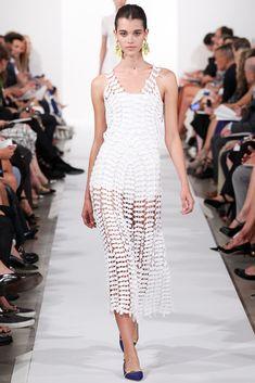 Oscar de la Renta Spring 2014 Ready-to-Wear Fashion Show - Pauline Hoarau