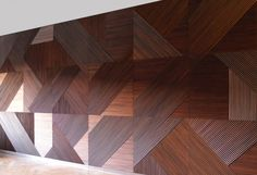 Wood textured wall