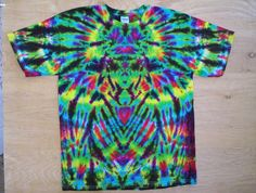 WhatThe Tie Dye Size Large by tiedyetodd on Etsy