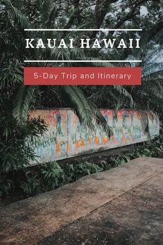 A complete guide to how we spent 5 days on the garden island including food, hikes, and excursions Kauai Vacation, Hawaii Honeymoon, Italy Vacation, Vacation Ideas, Hawaii Travel Guide, Travel Tips, Travel Destinations, Kauai Island, Fiji Islands