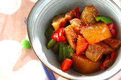 大根と豚肉の中華煮のレシピ・作り方 - 簡単プロの料理レシピ   E・レシピ