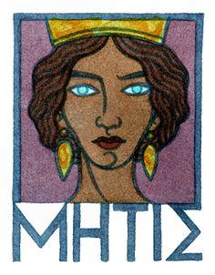 Metis, the Greek Goddess of Wisdom