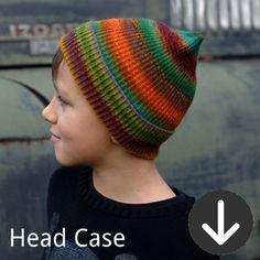free Headcase Hat knitting pattern