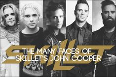 Skillet's musical style isn't the only thing that has shifted over the years. We took a look back at some of John Cooper's most memorable style phases. Gospel Music, Music Songs, Free Music Albums, Christian Rock Music, Jen Ledger, Skillet Band, John Cooper, Music Is Life, House Music