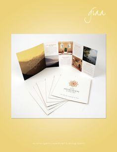 Tri-fold brochure; grid layout: image/body text pattern