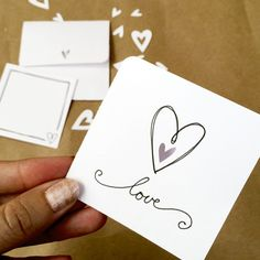 Make a little love note - a Cricut project designed by Jen Goode