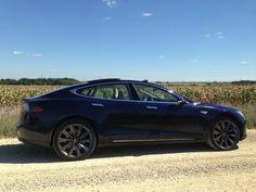 A photo of a Tesla Model S P85+ driven by our Green Guide editor, Robert Duffer. (Photo: Robert Duffer)