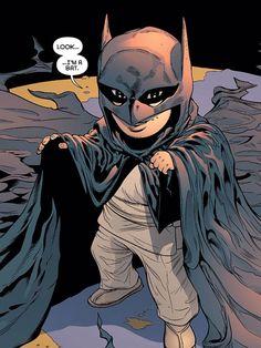 Young Damian Wayne by Patrick Gleason (Batman and Robin #0)