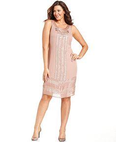 Plus Size Lace Illusion Dress - Plus Size Cocktail Dress | Plus ...