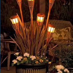 Fantastic idea! Citronella would be great for patio parties in the summer :)