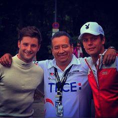 Adrien Tambay with Jim Pla #DTM #Norisring 2014