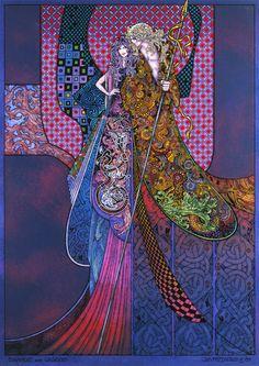 Diarmuid And Gráinne By Jim FitzPatrick