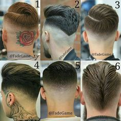 "1,156 Likes, 17 Comments - MENS HAIR STYLES & BEARDS (@menshairworld) on Instagram: ""@fadegame - Choose your favourite...COMMENT  FOLLOW  @fadegame S/O to respective barbers…"""