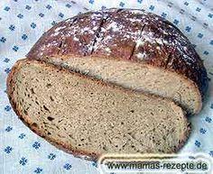 Farmhouse bread with yeast German Bread, German Baking, Bread Recipes, Cooking Recipes, Donuts, Fall Soup Recipes, Oktoberfest Food, Austrian Recipes, Bread Bun