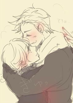 Hetalia (ヘタリア) - Denmark x Norway (DenNor)
