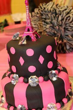 paris birthday cake - Google Search