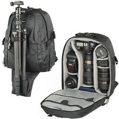 Lowepro Mini Trekker Waterproof DSLR SLR Camera Backpack Bag Canon Nikon Sony in Cameras & Photo,Camera & Photo Accessories,Cases, Bags & Covers | eBay