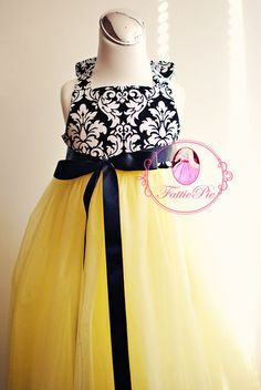 19 best black yellow white images on pinterest kids outfits flower girl dress mightylinksfo
