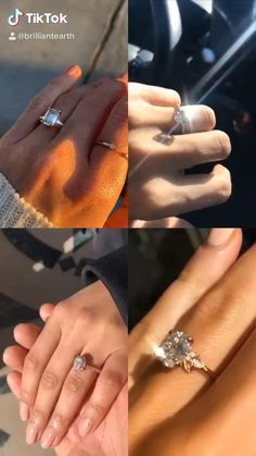 Follow us on TikTok for more beautiful sparkling diamond ring videos!  #ringselfie #engagementring #ringinspo #diamondring #ethicaldiamond #diamondengagement #rosegold #yellowgold #whitegold Jewelry Shop, Fine Jewelry, Jewellery, Dream Engagement Rings, Engagement Photos, Rose Gold Wedding Jewelry, Ring Video, Sparkling Diamond, Engagement Inspiration