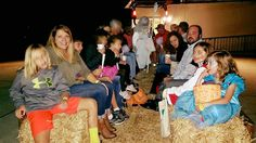 Hoover Country Club Halloween bash 2015. haunted hay ride.