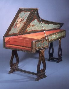 Grand piano by Manuel Antunes, Lisbon, 1767